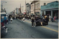 Photograph of Rivers Middle School Marching in a Parade