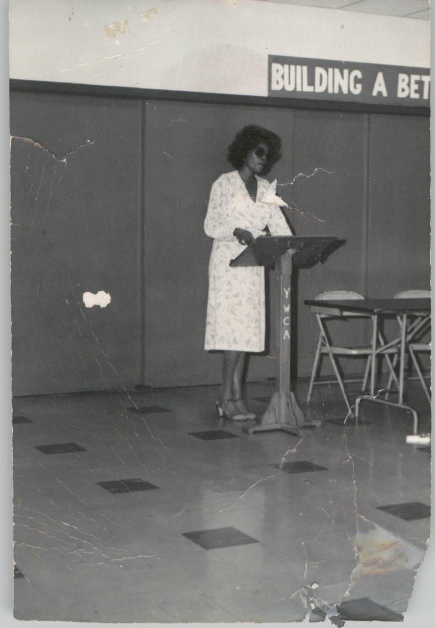 Photograph of a Woman Speaker