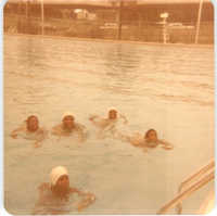 Photograph of Children Swimming