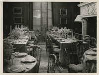 Interior of a dining room