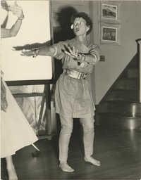 Photograph of Gertrude Legendre
