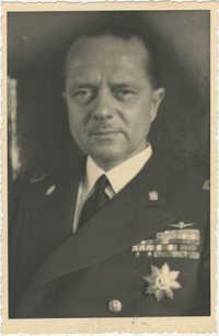 Mario Pansa in uniform, Photograph 1