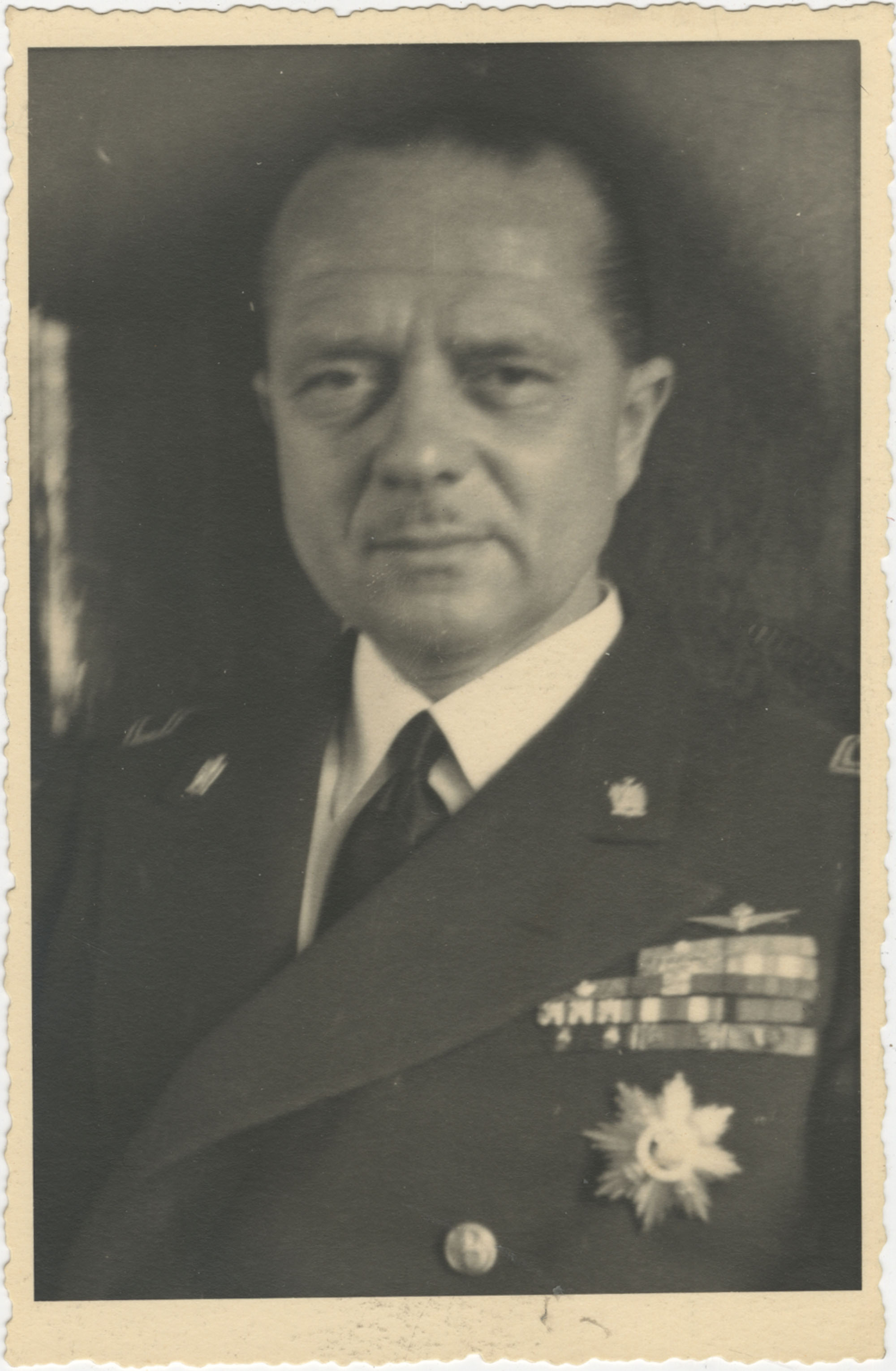Mario Pansa in uniform, Photograph 1