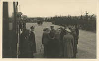 Mario Pansa greeting military personnel, Photograph 2