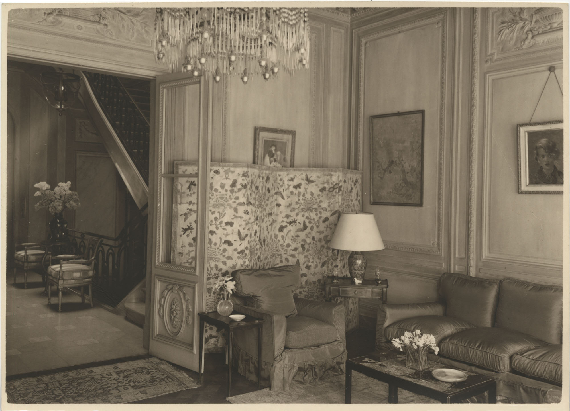 Blue drawing room'  in the Royal Italian Consul in Sri Lanka, Photograph 3