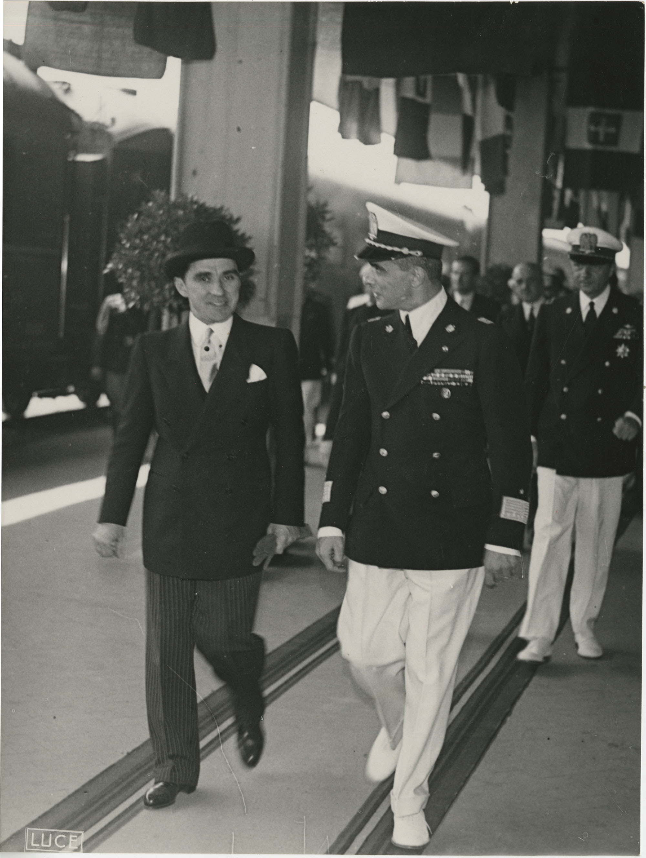 Mihai Antonescu's visit to Benito Mussolini, Photograph 48