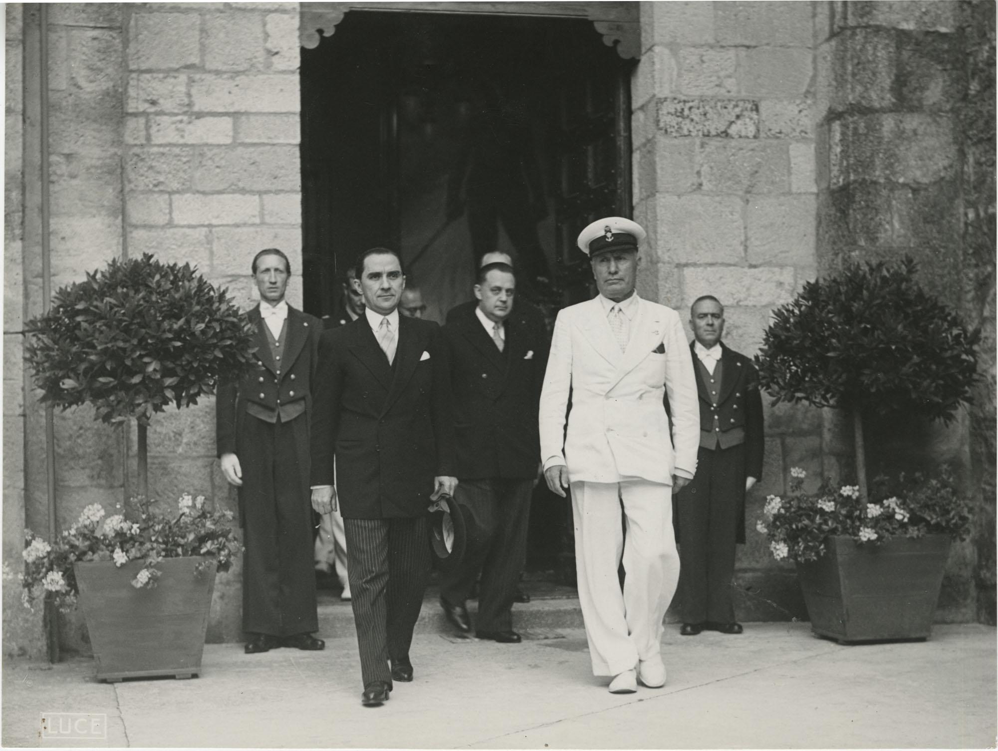 Mihai Antonescu's visit to Benito Mussolini, Photograph 50