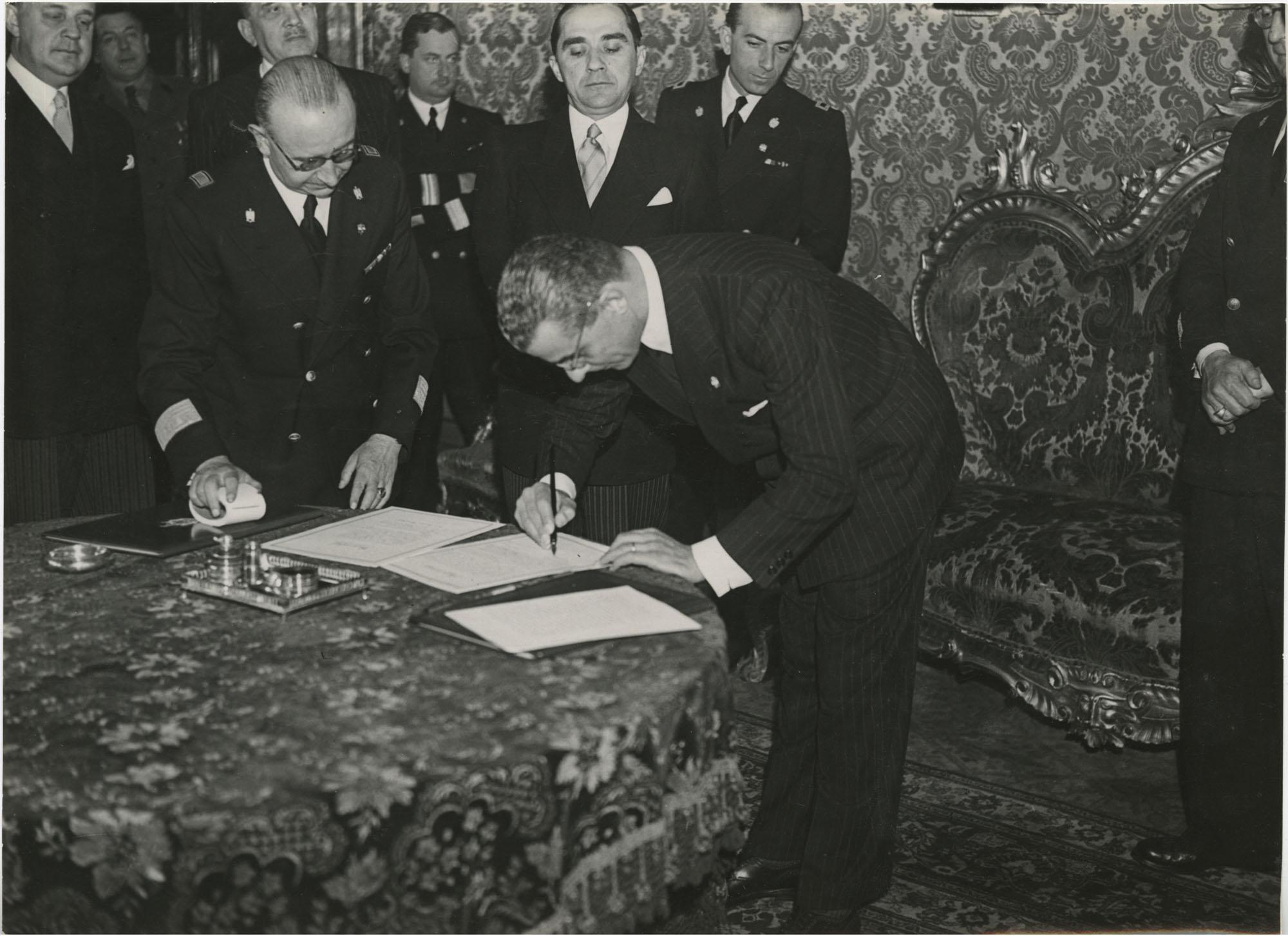Mihai Antonescu's visit to Benito Mussolini, Photograph 45