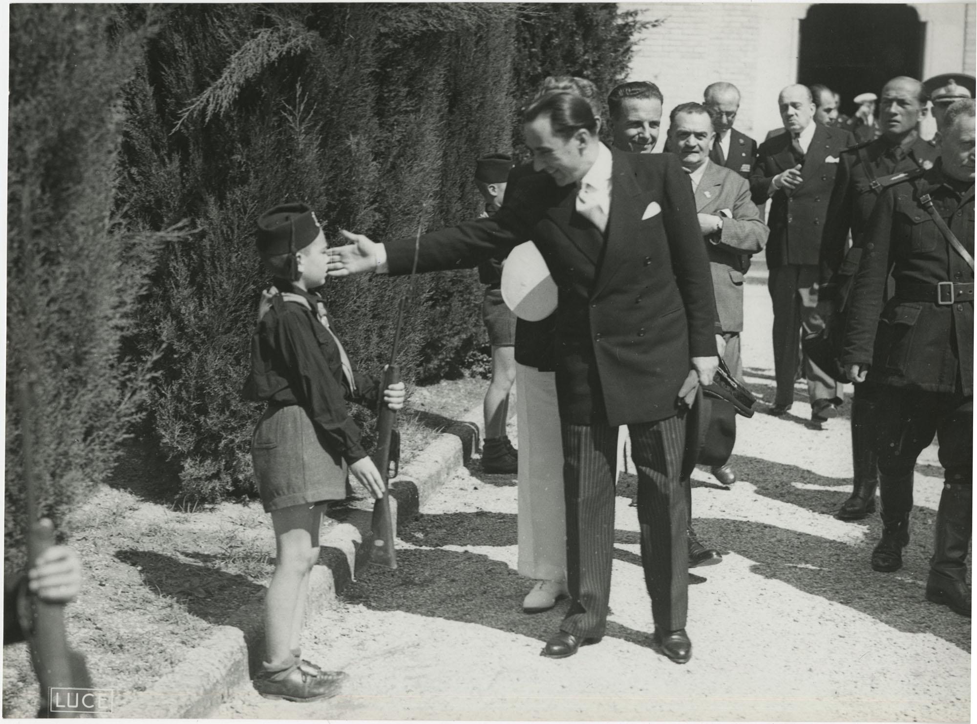 Mihai Antonescu's visit to Benito Mussolini, Photograph 13