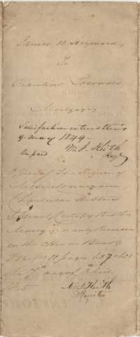 101. Mortgage of James B. Heyward obligated to Rawlins Lowndes -- March 27th, 1845