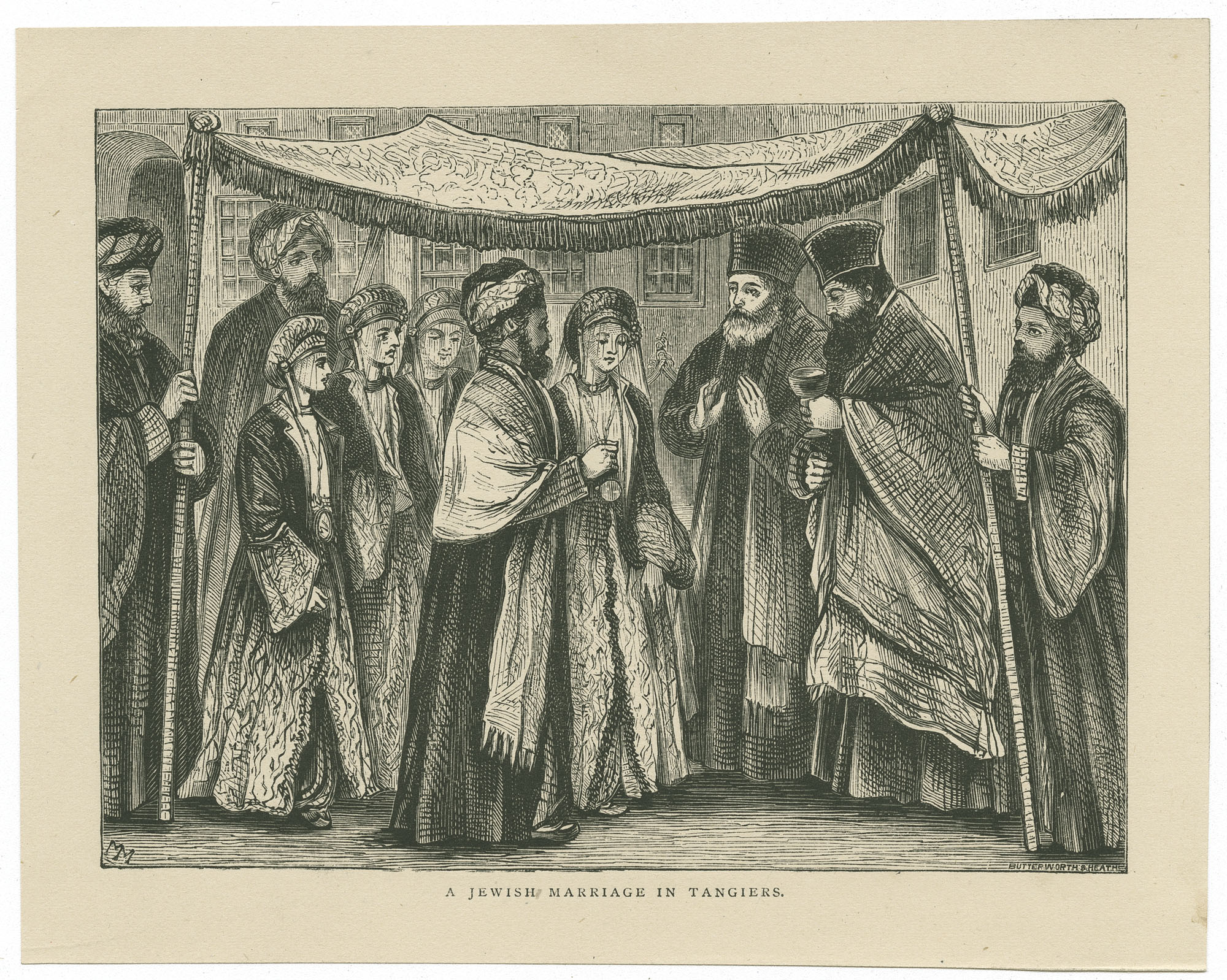 A Jewish marriage in Tangiers