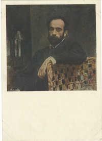 Портрет художника И. И. Левитана (1861-1900)