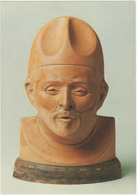 Joseph Mendes da Costa (1863-1939) Zelfportret / Self portrait, terracotta, 1927