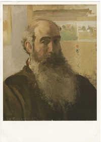 Camille Pissarro, Portrait de l'artiste, 1873