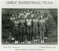 Avery Girls' Basketball Team