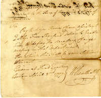 Letter from William Heath to Ebenezer Hancock