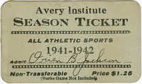 Season ticket for athletic events
