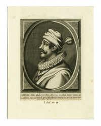 Sabetha Sebi Iudeorum Rex, Smirnæ in Asia natus ætatis 40.