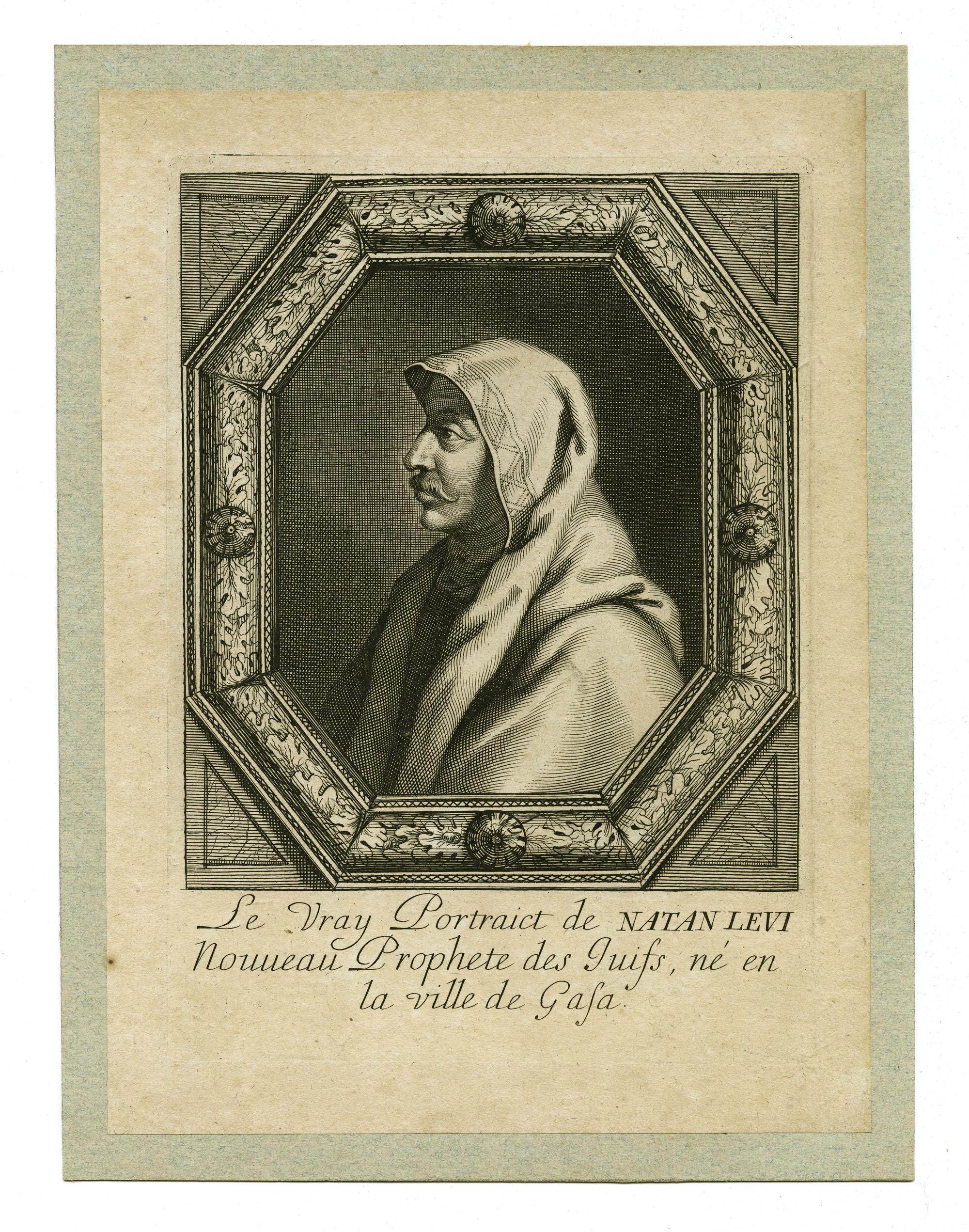 Le Vray Portraiet de Natan Levi, Nouveau Prophete des Juifs, né en la ville de Gasa