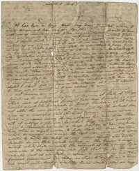 Unsigned letter to Thomas S. Grimke, March 8, 1813