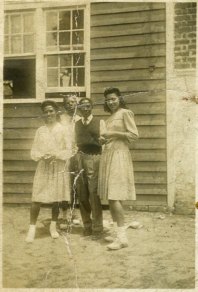 Students from Miss Clyde's Training School at Avery