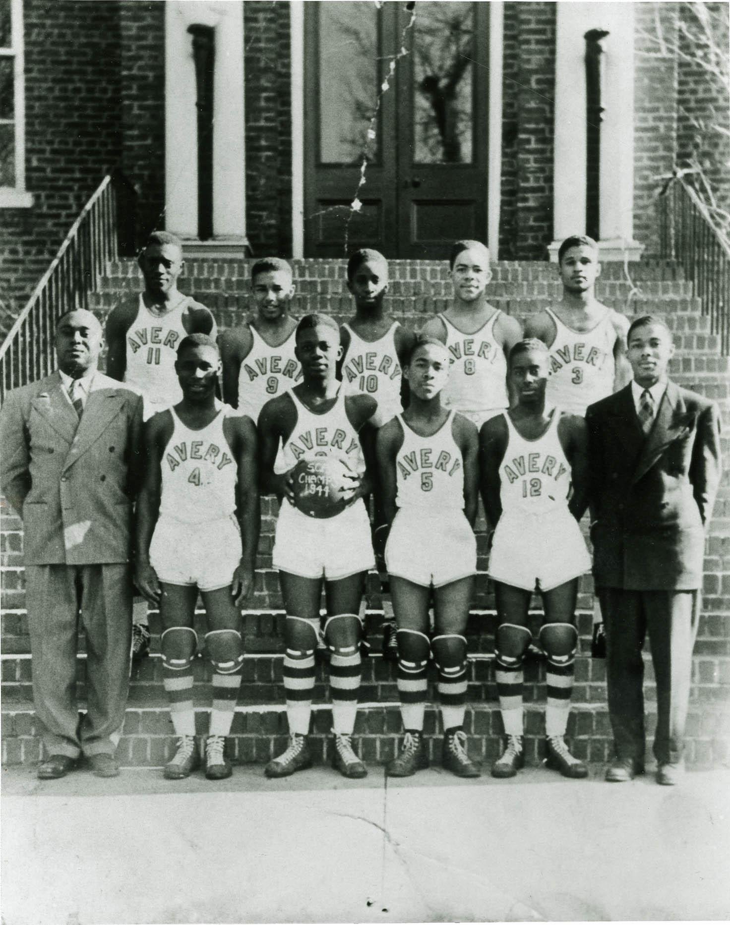 Avery Men's Basketball Team