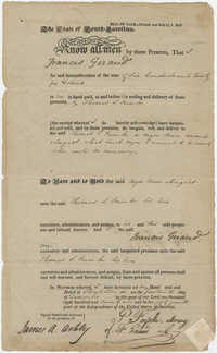 Bill of Sale to Thomas S. Grimke for the purchase of a slave named August, December 14, 1829