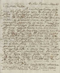 Letter from Drayton Grimke to his father, Thomas S. Grimke, May 30, 1828