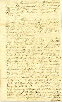 Letter from Major General Nathanael Greene addressed to Arthur Campbell