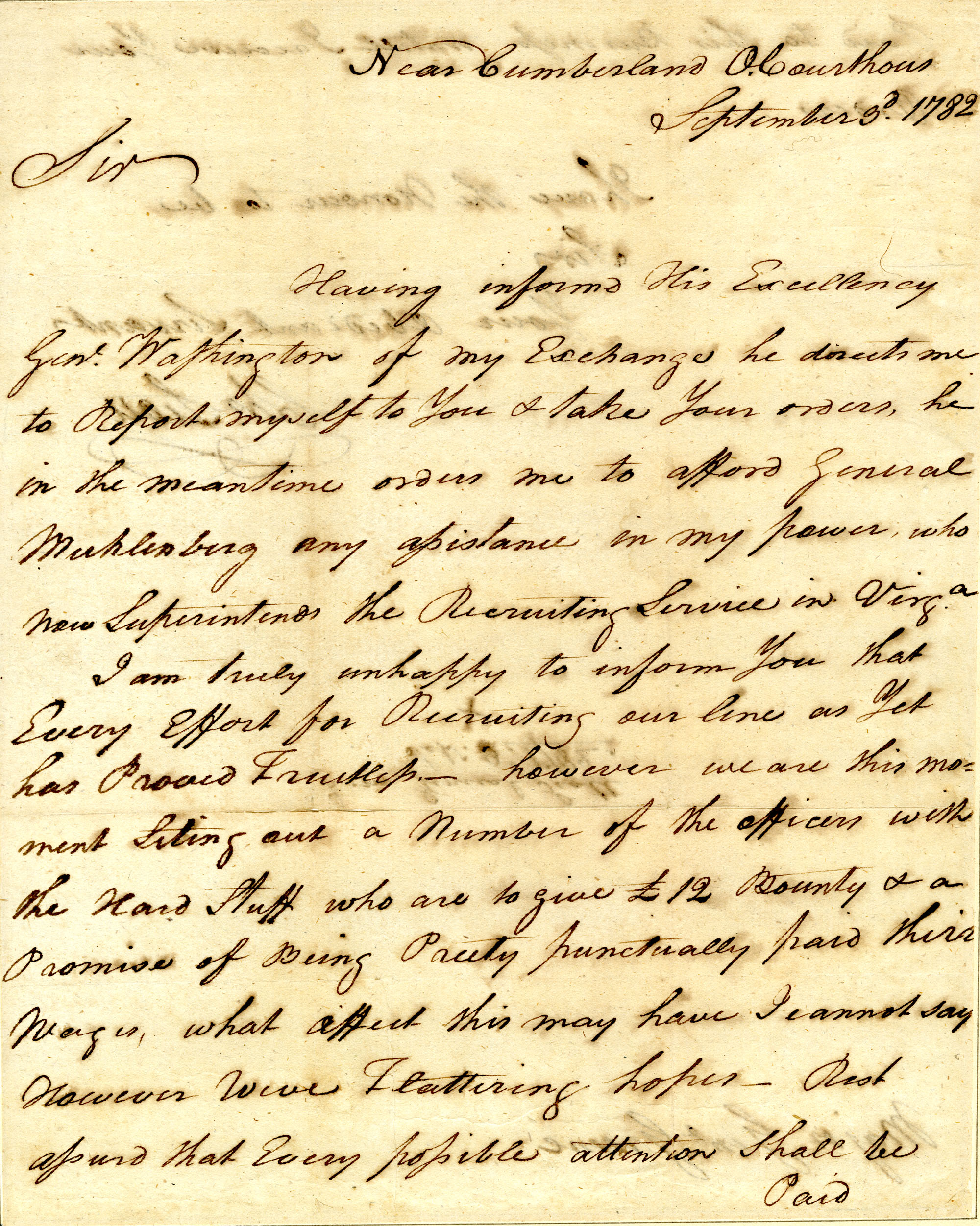 Letter from Charles Scott to Nathanael Greene