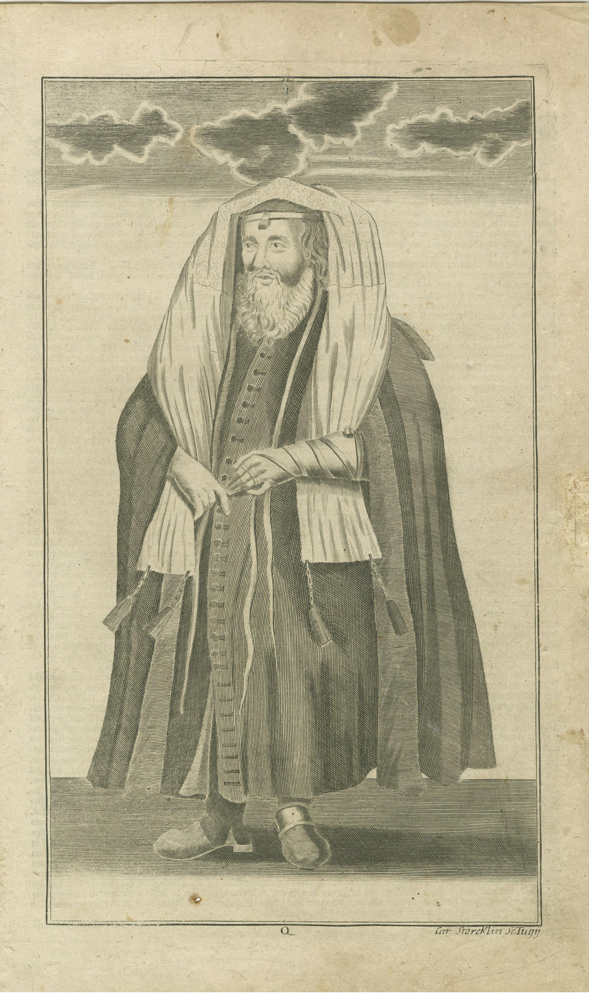 Betrachtung über einen in seiner Kleidung abgebildeten Pharisäer