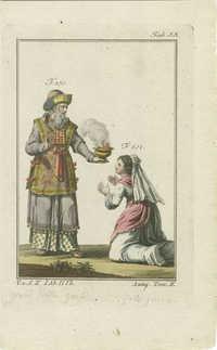 Grand-prêtre des Hébreux. Son costume.