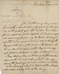 Letter to John F. Grimke from Alexander Chisolm, November 2, 1786