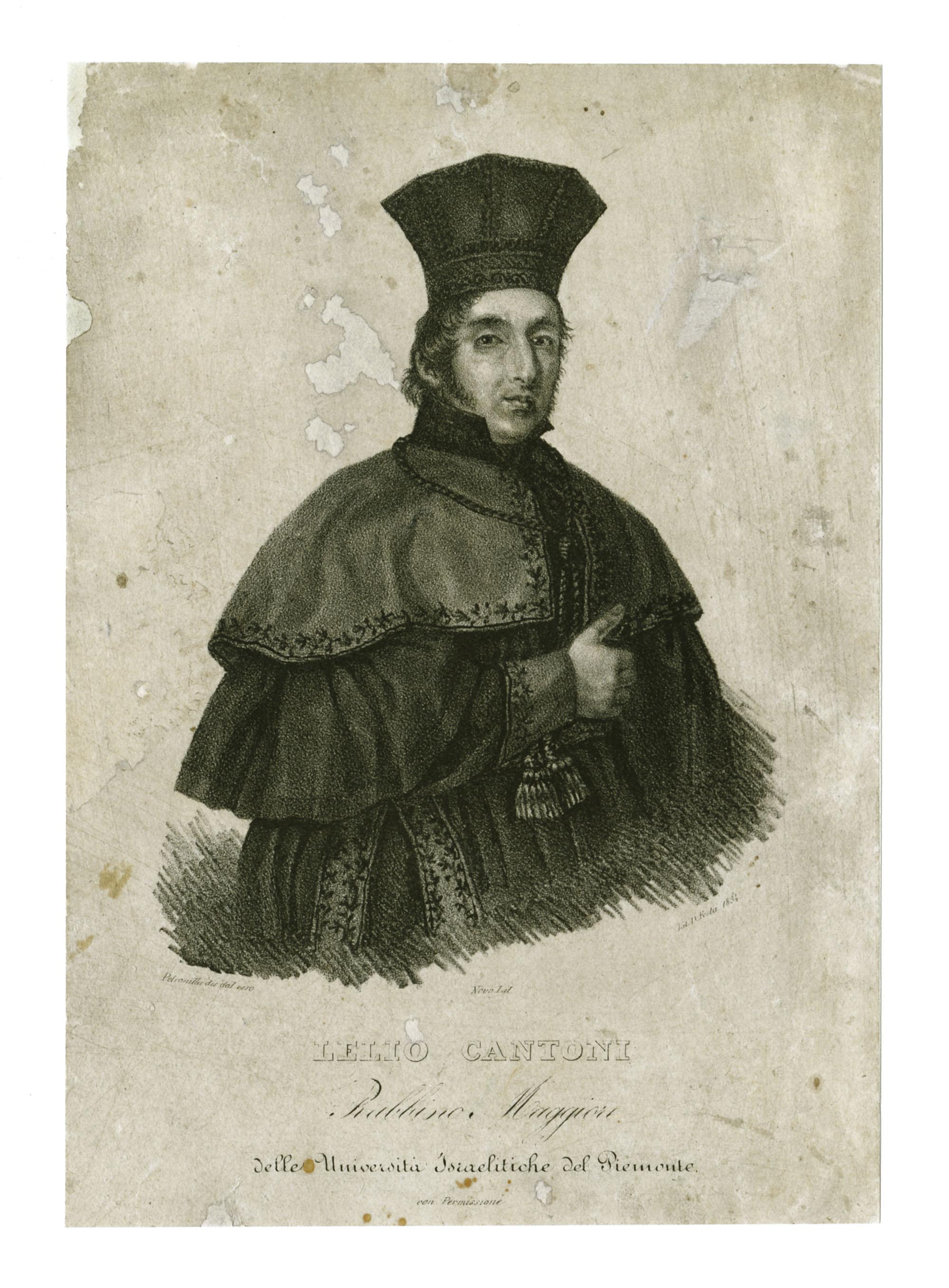 Lelio Cantoni, Rabbino Maggiore