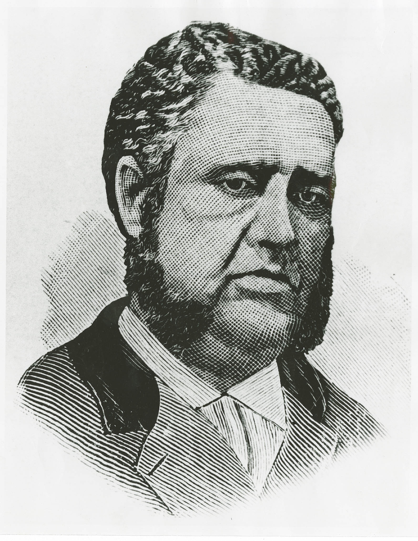 Sketch of Francis L. Cardoza