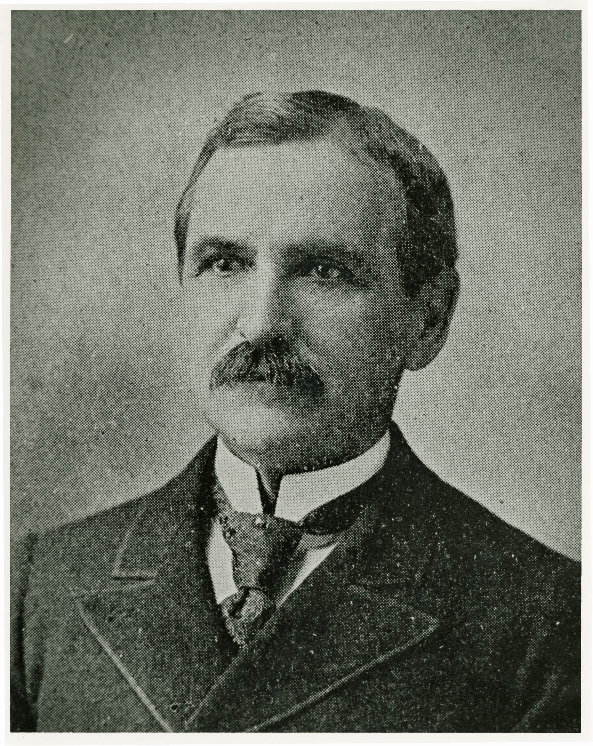 Portrait of Professor M.A. Holmes
