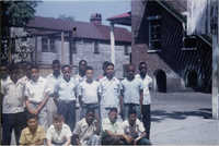 Group of Male Students Posing