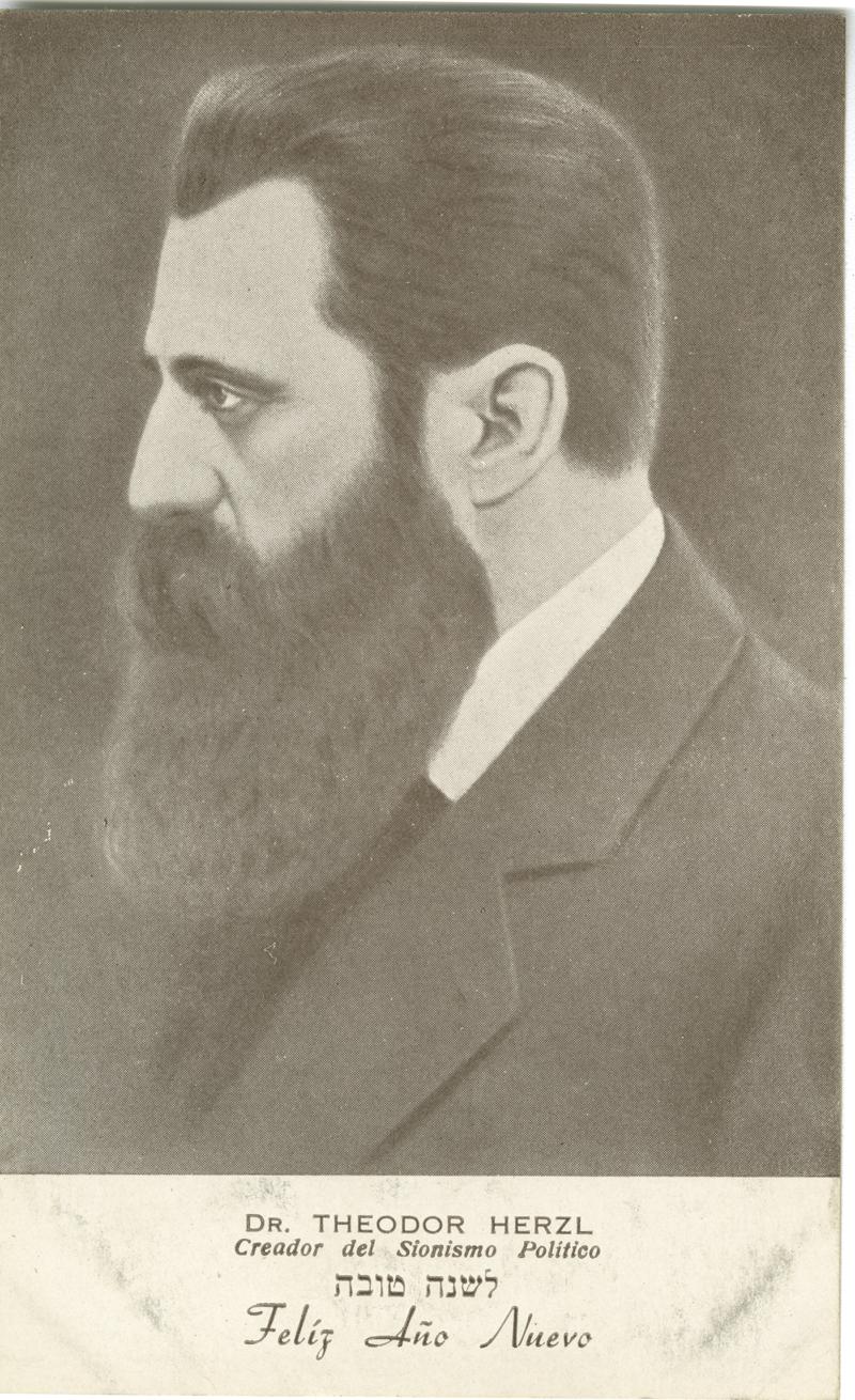 Dr. Theodor Herzl, Creador del Sionismo Político
