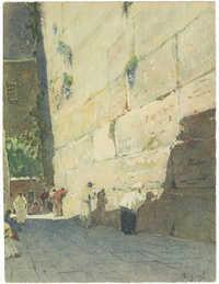 [Le Mur des Lamentations, Jerusalem]