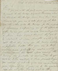 Letter written by Captain Joseph Warley, December 31, 1778