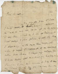 Letter from General Robert Howe to John F. Grimke, 1778