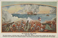 The Attack on Fort Sumpter, April 12-13, 1861