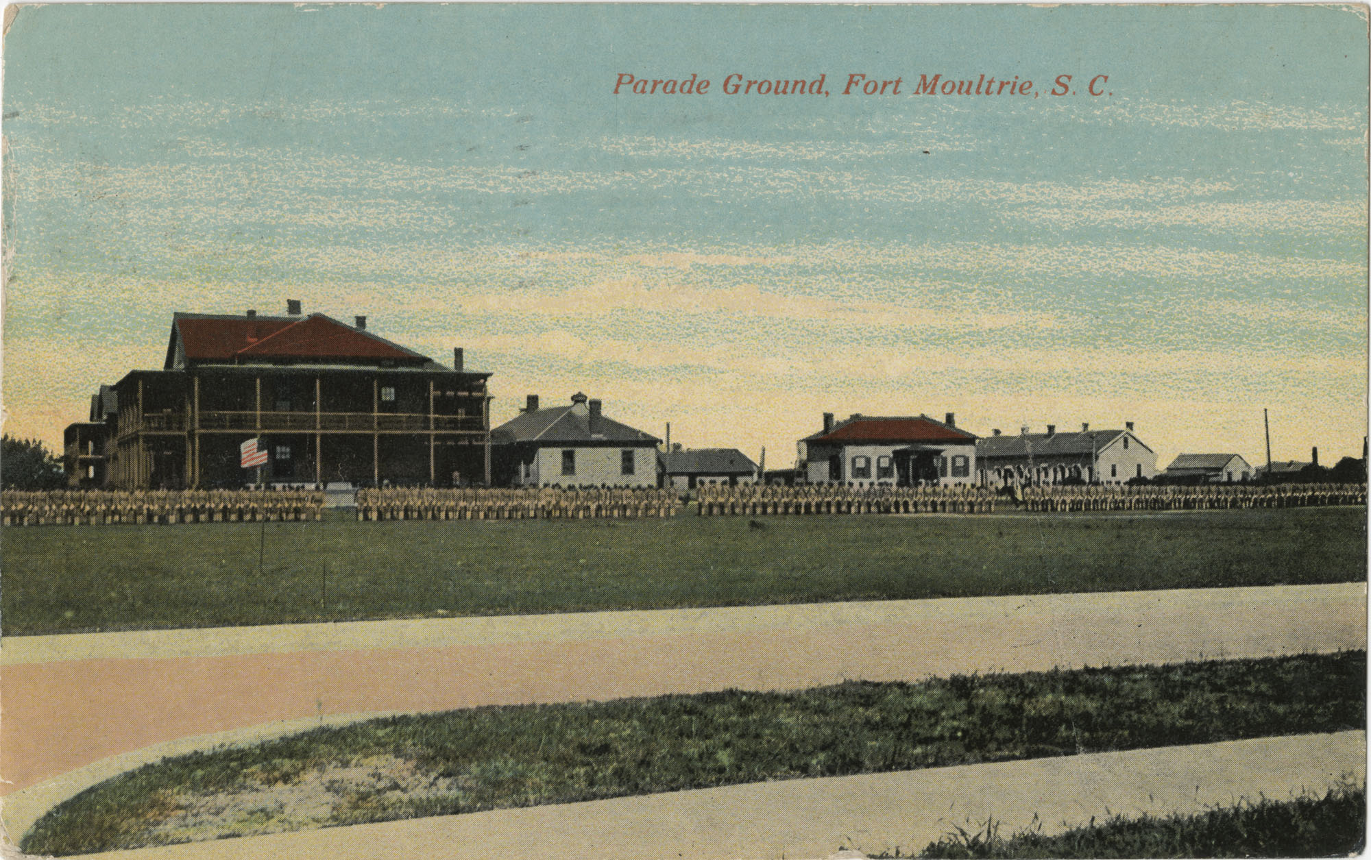 Parade Ground, Fort Moultrie, S.C.