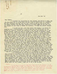 Letter from Gertrude Sanford Legendre, December 31, 1942