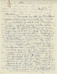 Letter from Gertrude Sanford Legendre, August 25, 1942