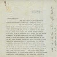 Letter from Gertrude Sanford Legendre, August 22, 1945