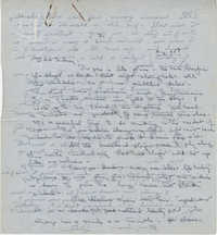 Letter from Gertrude Sanford Legendre, August 25, 1943