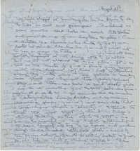 Letter from Gertrude Sanford Legendre, August 28, 1943