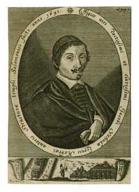 Effigies uiri doctissimi et clarissimi Jacobi Yehudæ Leonis Hebræi autoris Structuræ templi Salomonici facti anno 1641