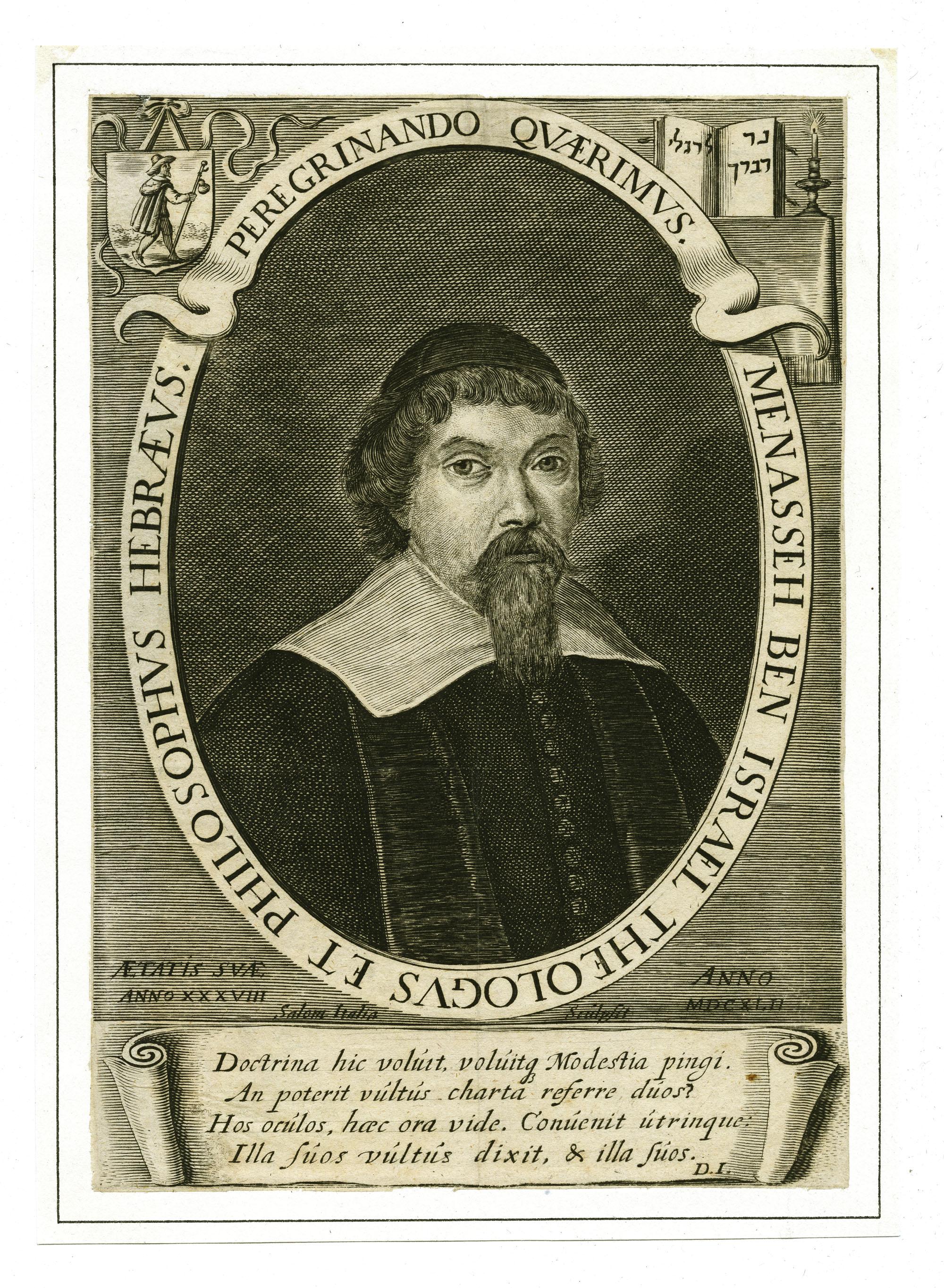 Menasseh Ben Israel Theologus et Philosophus Hebræus
